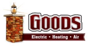 Goods Electric Heating Air Logo