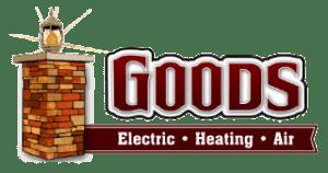 Goods Electric Heating Air Logo